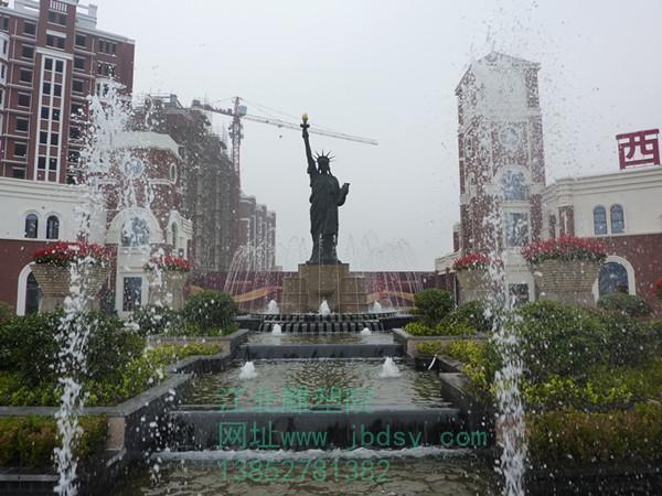镇江自由女神雕像